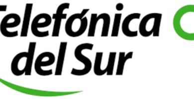 Logo de Telefonica del Sur