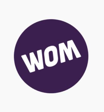 Logo de WOM
